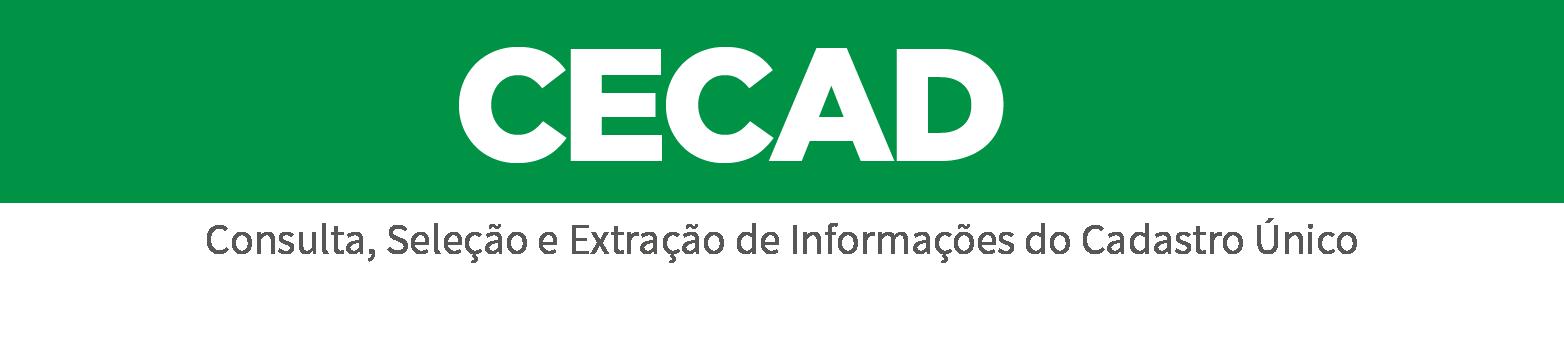 Consulta e extração de informações das famílias inscritas no Cadastro Único de Programas Sociais