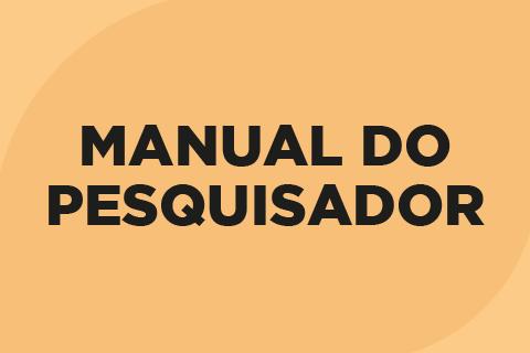 Manual do Pesquisador
